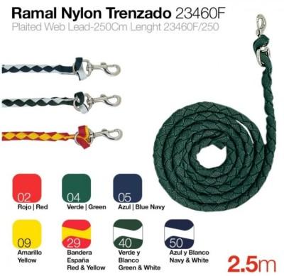 """Führleine """"Trenzada Nylon""""  (RAZ-001)"""